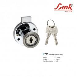 Multipurpose Lock Round 6 Levers