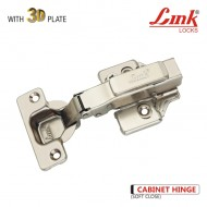 Soft Close Hinge with 3D Plate